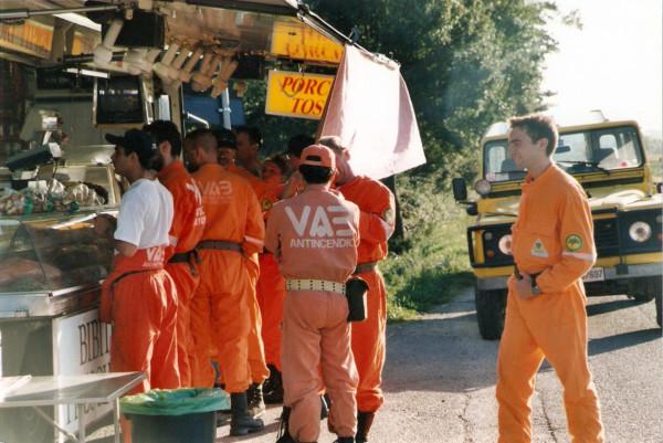 2001 08 05 Incendio Montefalco (PI) - 2