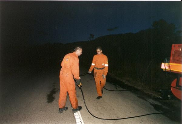 2001 08 31 Incendio Quercianella - 1