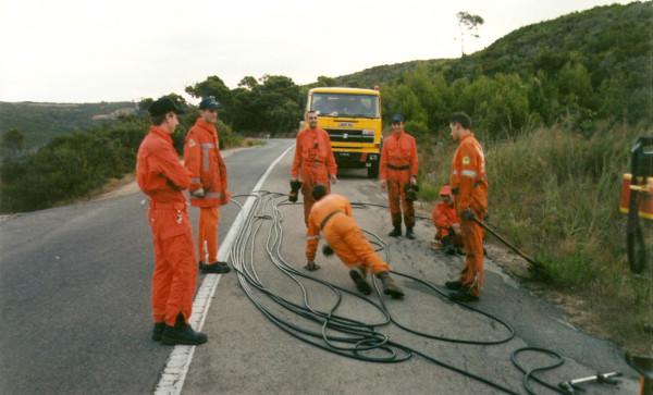 2001 08 31 Incendio Quercianella - 3