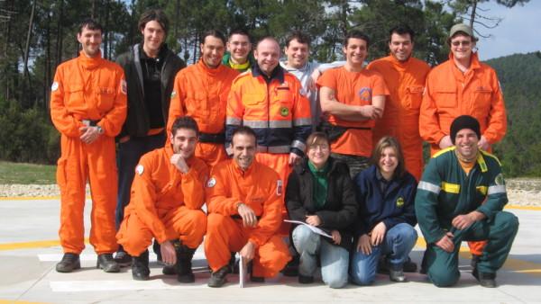 2008 03 15-16 Corso antincendio Monticiano (SI)